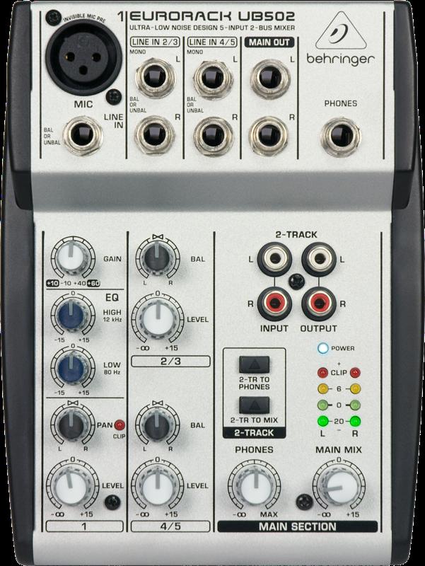 Mixer Behringer EURORACK UB502
